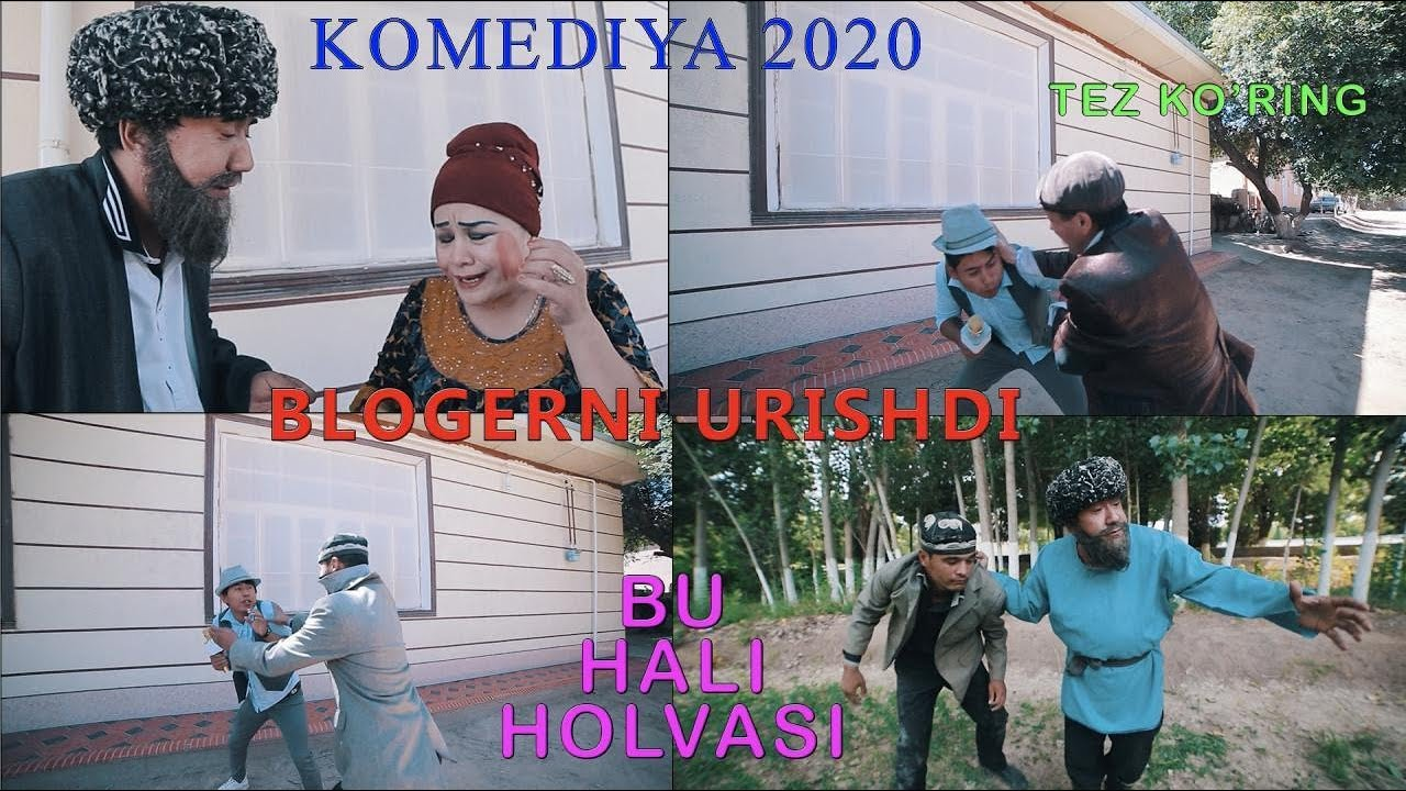 BLOGERNI URISHDI BU HALI HOLVASI KOMEDIAY 2020