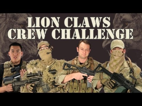 Airsoft GI - $300 Budget Tactical Gear Build Off! - The Lion Claws Crew Challenge