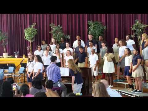 8th grade graduation Annapolis Middle School