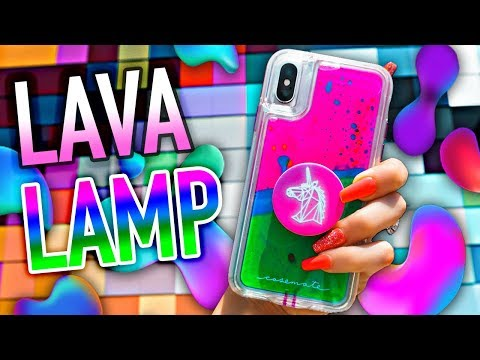 Case-Mate Lava Lamp Case // Coolest iPhone Case EVER! 🤯🤯