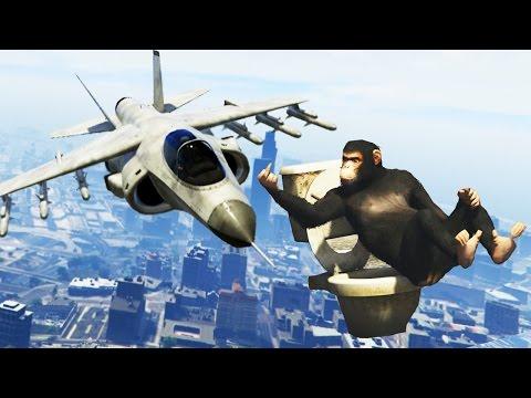 Funny GTA 5 Stunts & Fails! (Funny Moments Compilation)