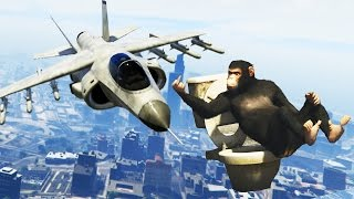 Funny GTA 5 Stunts & Fails! (Funny Moments Compilation)