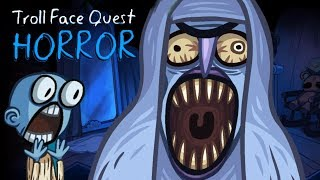 Troll Face Quest Horror Halloween Trolling Fun Time Gameplay with Commentary