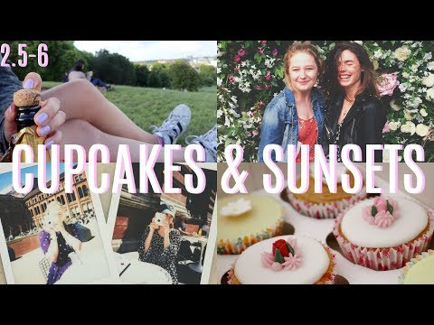 CUPCAKES & SUNSETS // VLOG (2.5-6)
