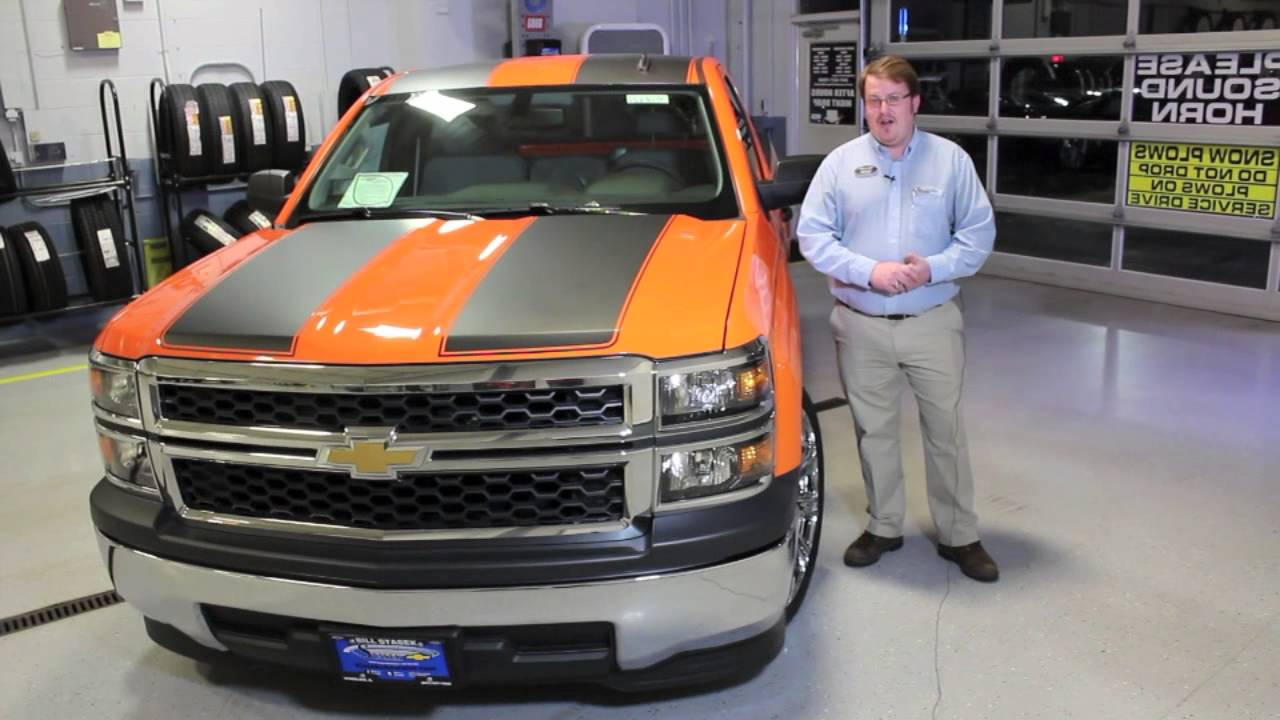 Custom 2014 Chevrolet Silverado Pickup Truck for sale - YouTube