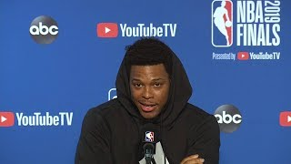 Kyle Lowry Full Interview - Game 3 Preview | 2019 NBA Finals Media Availability