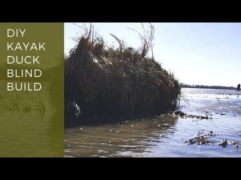 Kayak Duck Blind Build