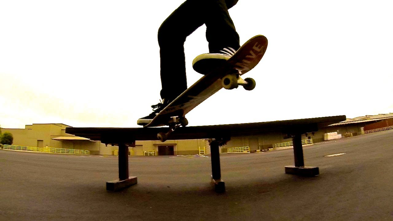 How to Make a Crooked Grind with Skate