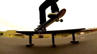 HOW TO CROOKED GRIND THE EASIEST WAY TUTORIAL