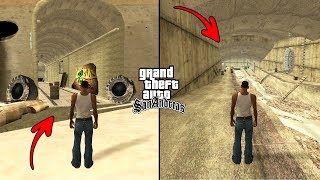 Secret Tunnels Under Los Santos in GTA San Andreas! (Hidden Places)