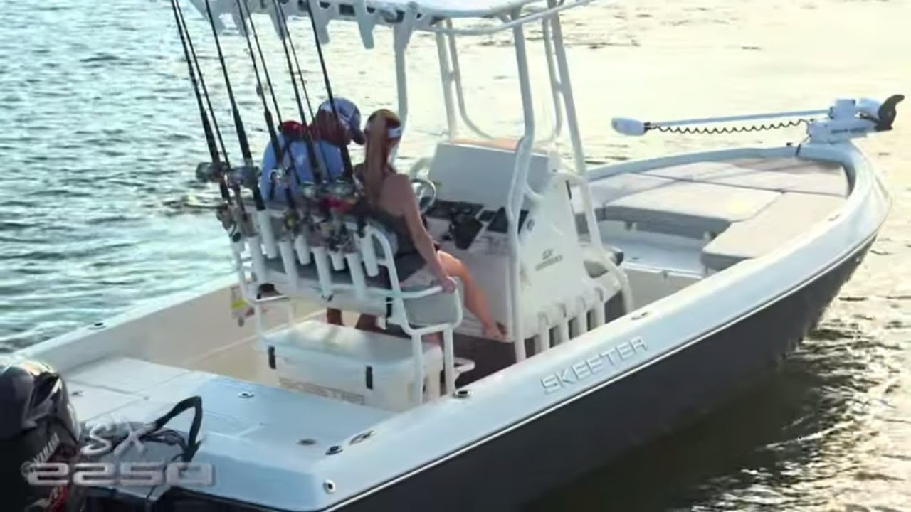 Skeeter bay boat sx2250 center console saltwater fishing for Salt water fishing boats