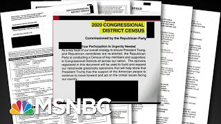 Republicans Mail Out Fake Census Documents  All In  MSNBC