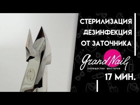 Дезинфекция и Стерилизация Маникюрного Инструмента Кусачек Щипчиков Ножниц