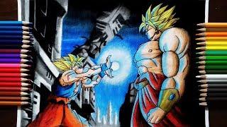 Drawing Goku