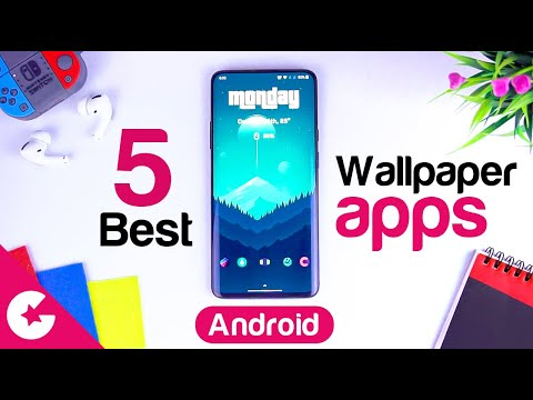 Top 5 Best Free Wallpaper Apps For Android 2020