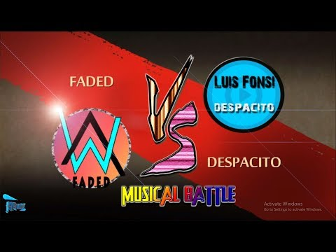 SHADOW FIGHT 2:- FADED VS DESPACITO{headphones recommended}