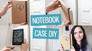 DIY Notebook Cover for iPad / Kindle | CharliMarieTV