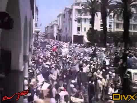manif du 5 juin au maroc et devant l'ambassade du maroc a paris