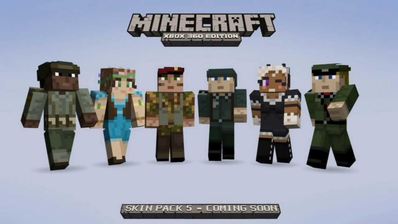 NEW Soldier Skins In SP10! - Minecraft (Xbox 10)