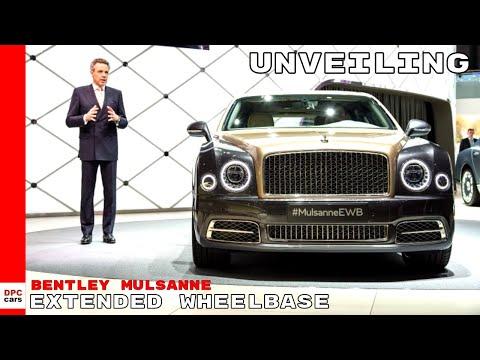 Bentley Mulsanne Extended Wheelbase Unveiling
