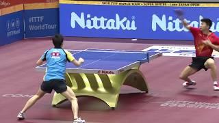 【ジャパンOP2016】男子シングルス準々決勝 水谷隼vs馬龍(中国)