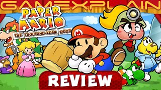 Does Paper Mario: The Thousand-Year Door Hold Up? RETRO REVIEW (GameCube) (Video Game Video Review)