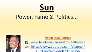 Sun - Power, Fame & Politics...