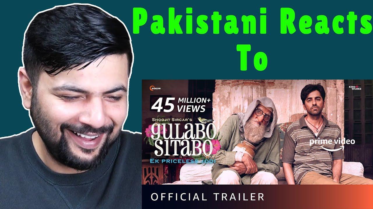Pakistani Reacts to Gulabo Sitabo - Official Trailer | Amitabh Bachchan, Ayushmann Khurrana