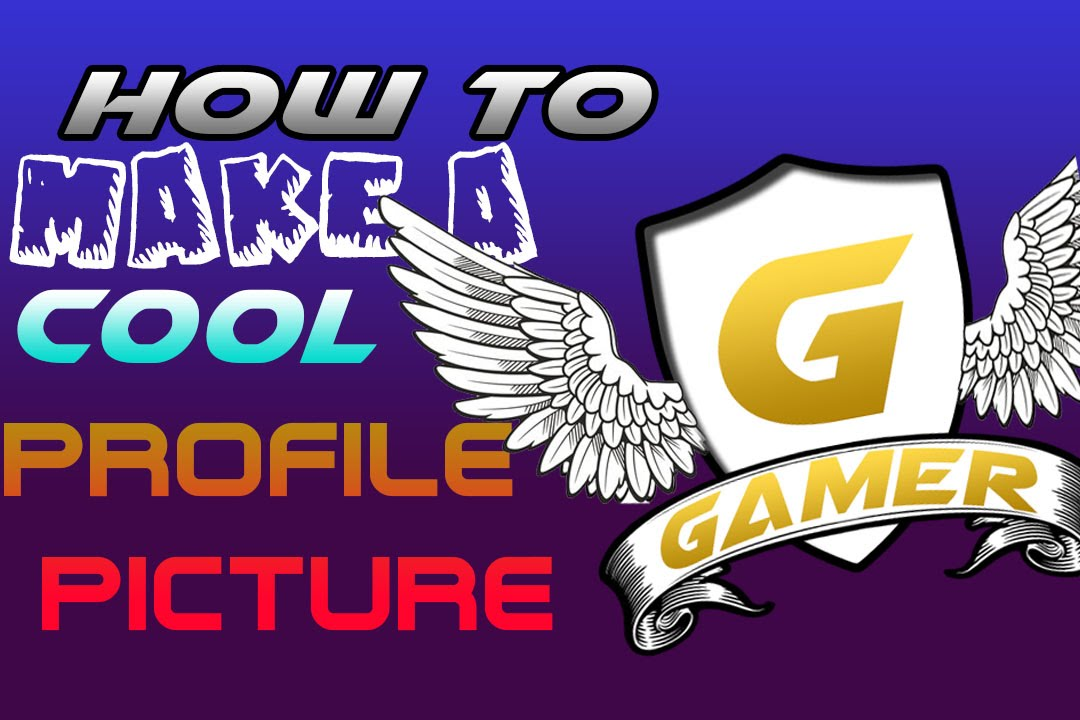 How To Make A YouTube or Steam Profile Picture In Photoshop - YouTube