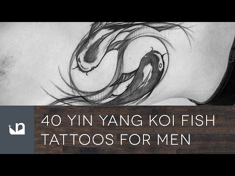 40 Yin Yang Koi Fish Tattoos For Men