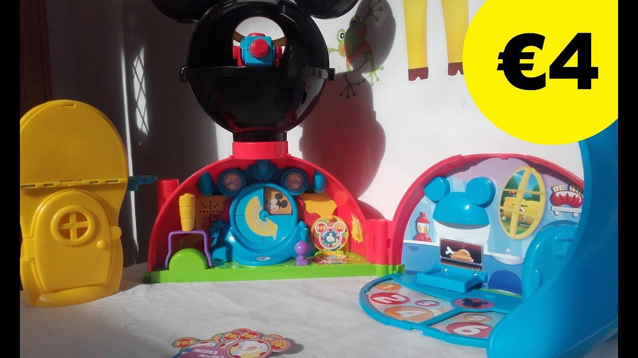 La casa de mickey mouse clubhouse compras segunda mano for Casa de juguetes para jardin de segunda mano