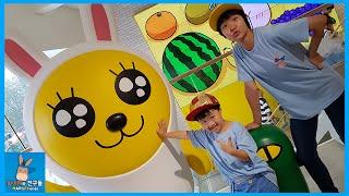 카카오 프렌즈 캐릭터 플래그샵 강남 Vlog ♡ 카카오톡 캐릭터 인형 학용품 개봉기 Kakao Friends shop in Seoul | 말이야와친구들 MariAndFriends
