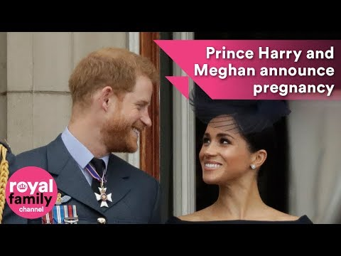 Prince Harry and Meghan announce pregnancy while in Sydney