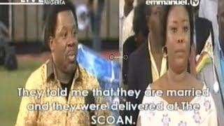 SCOAN 23 Mar 2014:  Jesus Loves Sinners But Hates Sin By Prophet TB Joshua. Lesbianism Spirit