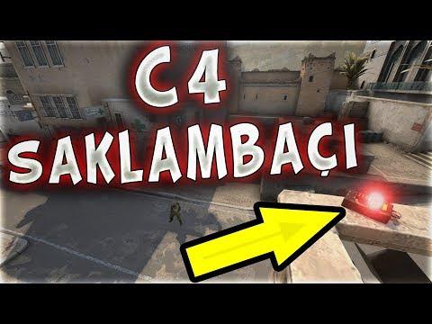 C4 SAKLAMBAÇI DUVARA BOMBA KURDUM !! SES KASTIRMIYORUM (CS:GO)