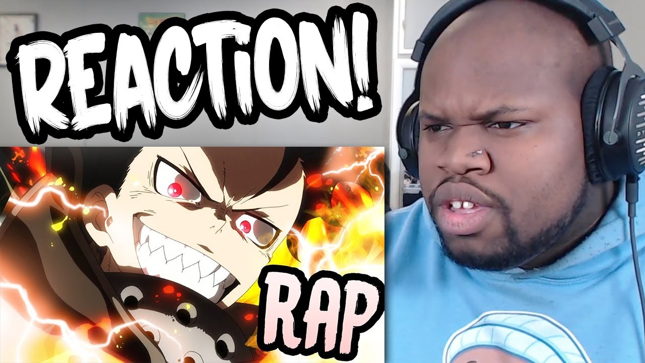 "SHINRA RAP REACTION | ""Surrender in Flames"" 