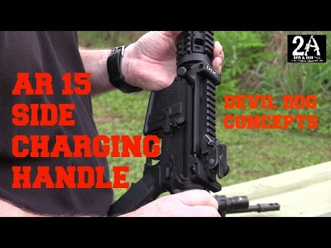 #Big 3 East; Devil Dog Concepts AR 15 side charging handle!