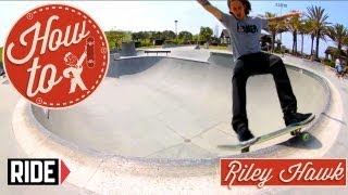 How-To Skateboarding: Frontside Smith Grinds with Riley Hawk
