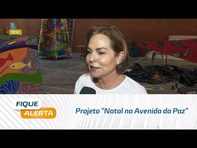 """Projeto """"Natal na Avenida da Paz"""" celebra as festas com arte e cultura"""