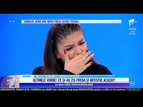 Ana Maria, fiica lui Aurelian Preda, a izbucnit în plâns, în direct!
