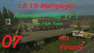 LS 15 Multiplayer Ackendorf #7 Depot und Dieselfabrik [german/deutsch]