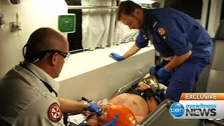 paramedic ride along