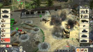 Men of War Online Battle #130: Germany vs United States (Live-Commentary)
