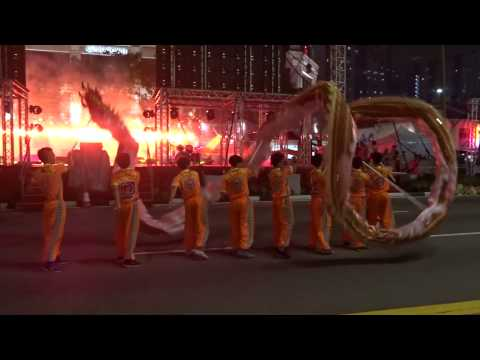Singapore Chinatown Mid Autumn Festival Light Up & Performances 2015