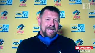 Kaizer Chiefs 2-1 Maritzburg United: MTN8 Reactions from coach Eric Tinkler