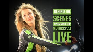 Preparing for Motorcycle Live - Behind the scenes with Principal Insurance