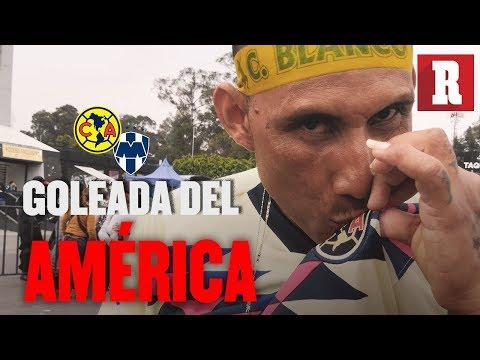 Color América vs Monterrey (4-2) | Primer goleada del ave en casa