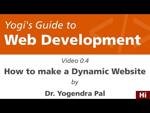 How to Make a Dynamic Website | Yogi