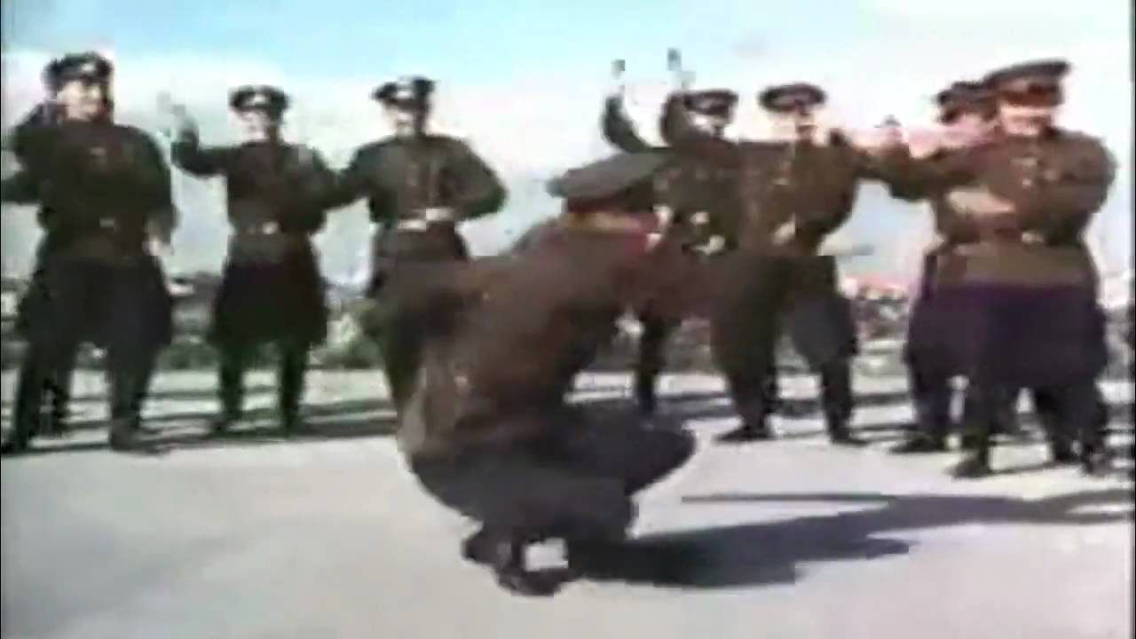 Soviet Russian Soldier Jumpstyle Cossack Dance Is Not A