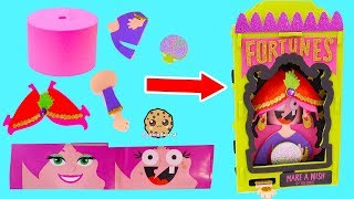DIY Foam Kit Halloween Fortune Teller Easy No Glue Craft Set How To Video